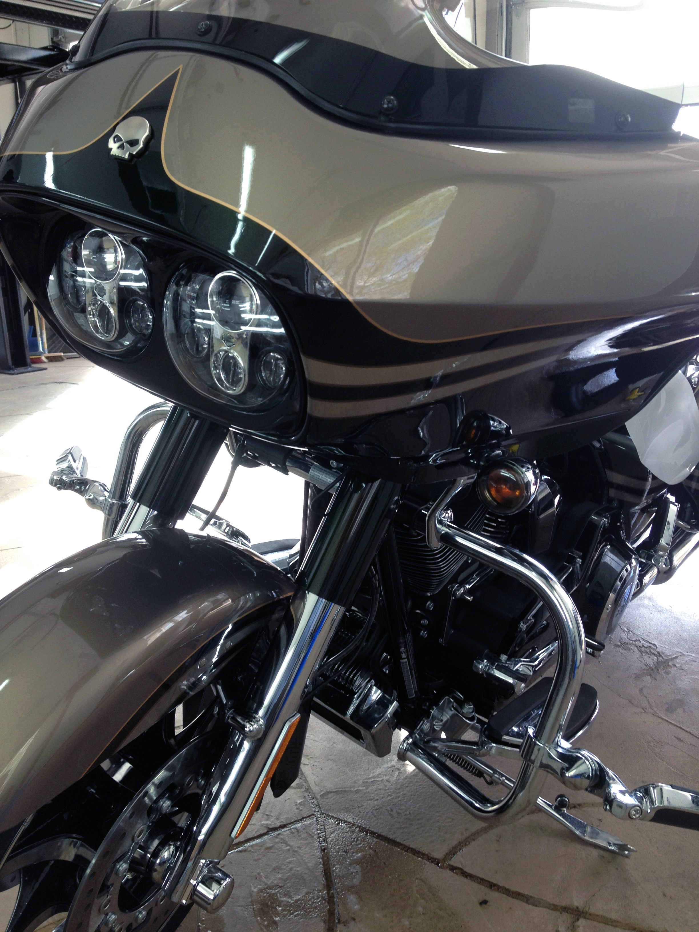 Motorcycle Paint Protection #0066