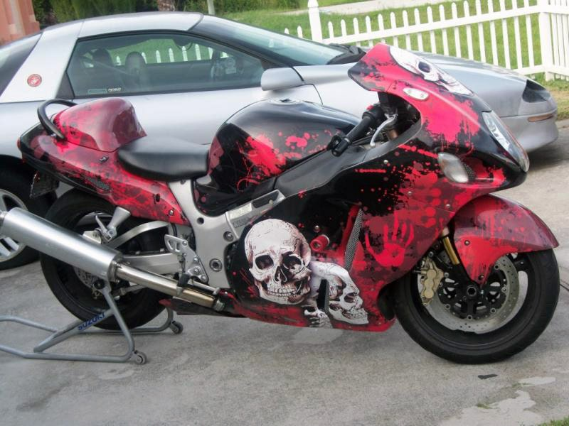 Motorcycle Wrap #0728