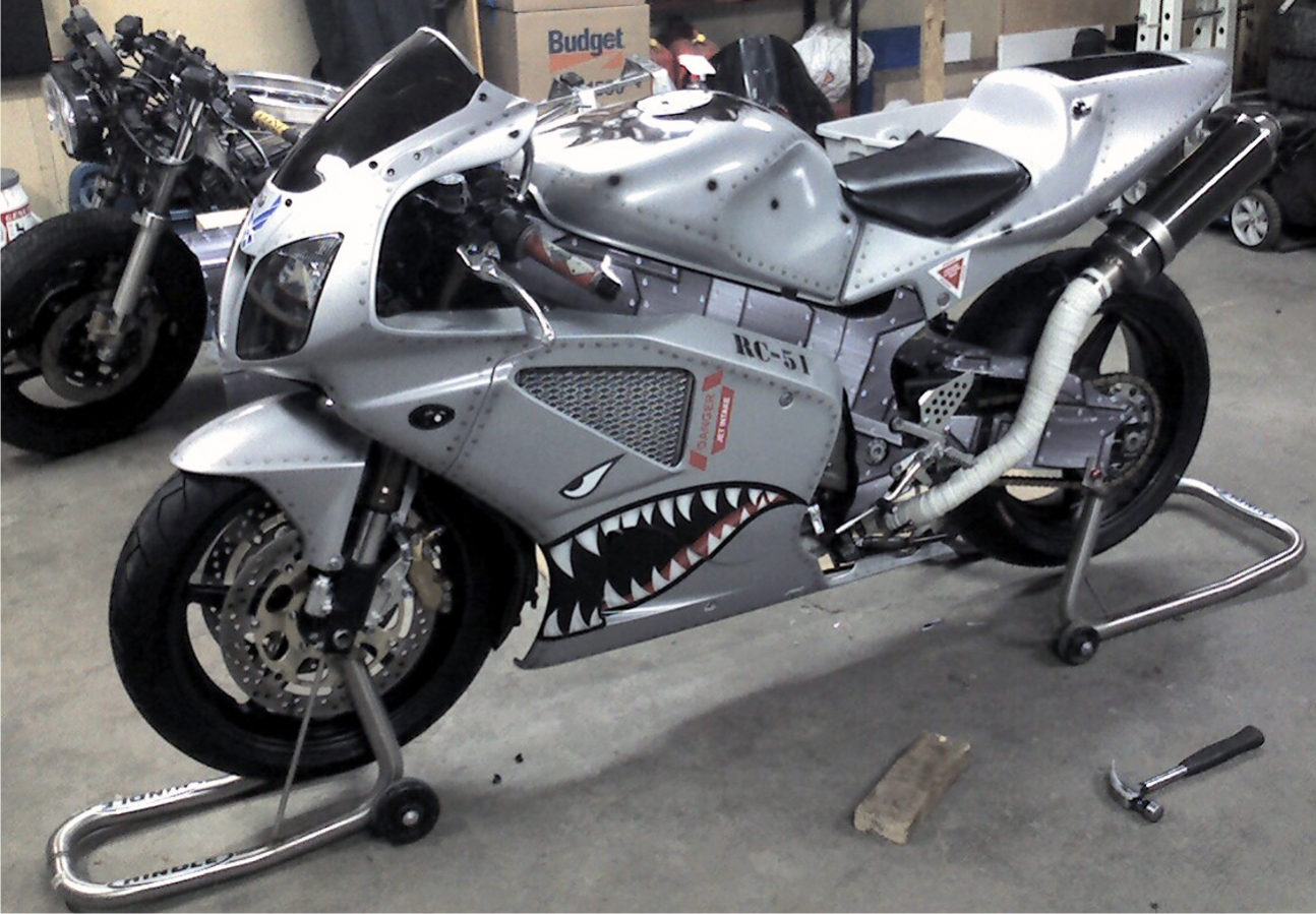 Motorcycle Wrap #1192