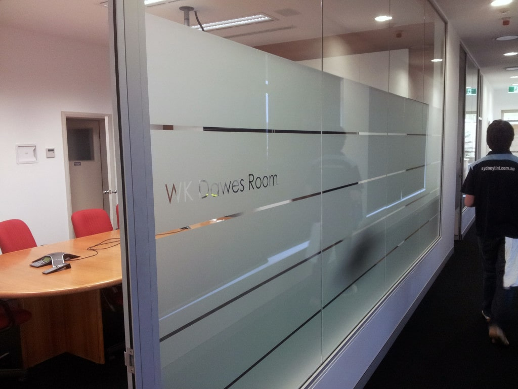 Frosted Window Film #1387